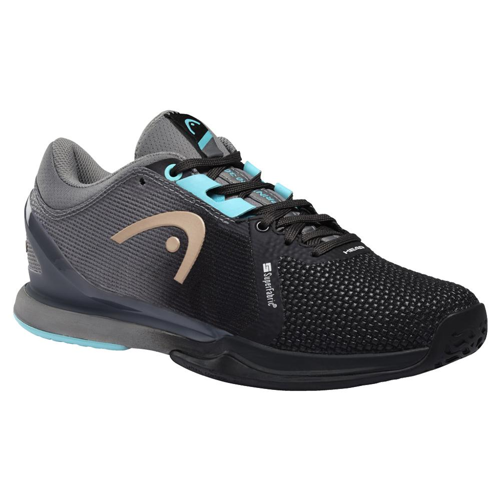 Women's Sprint Pro 3.0 Sf Tennis Shoes Black And Blue