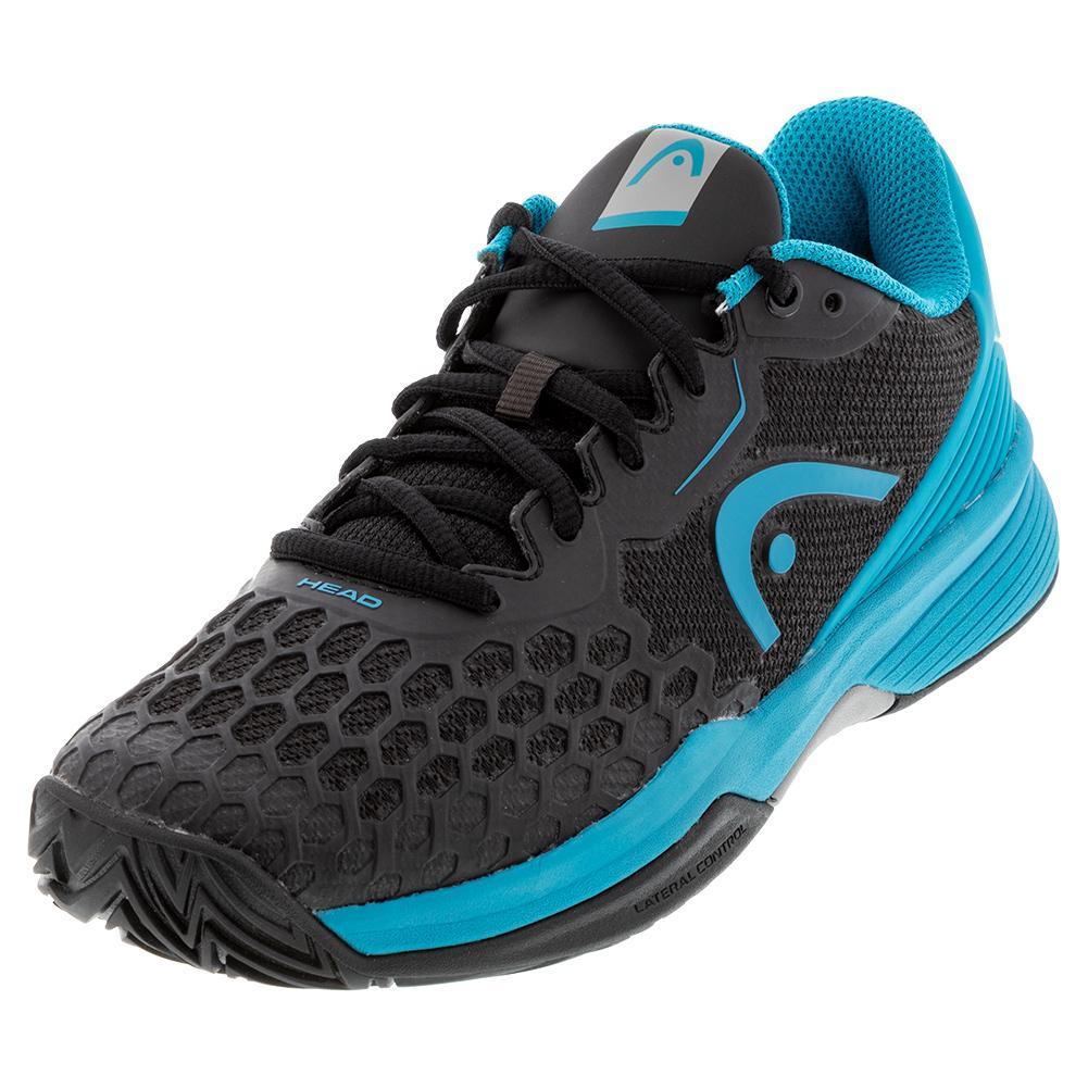 Juniors ` Revolt Pro 3.5 Tennis Shoes Raven And Capri