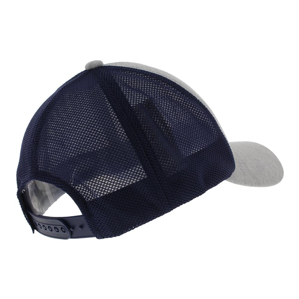 9e9e0df7 Trucker Hat Gray And Navy. Zoom. Hover to zoom click to enlarge.  Description ...