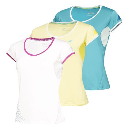 Women's Perf Cap Sleeve Tennis Top