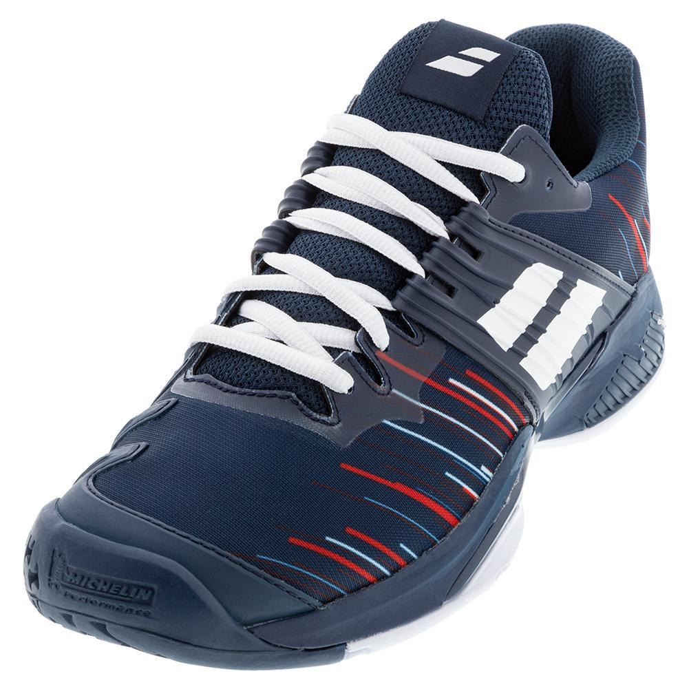 Men's Propulse Fury All Court Tennis Shoes Estate Blue