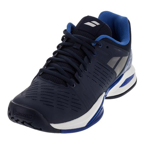Men's Propulse Team All Court Tennis Shoes Dark Blue