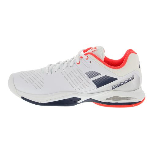 babolat s propulse team all court tennis shoes white