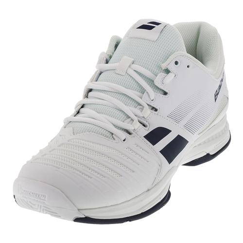 Men's Sfx All Court Tennis Shoes White And Blue