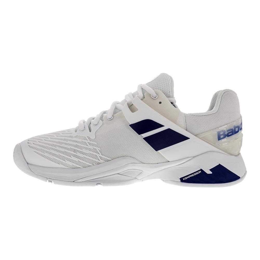 babolat s propulse all court wimbledon tennis shoes in