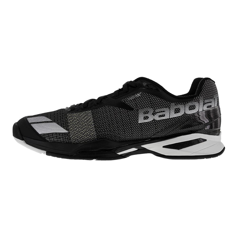 babolat s jet all court tennis shoe black white