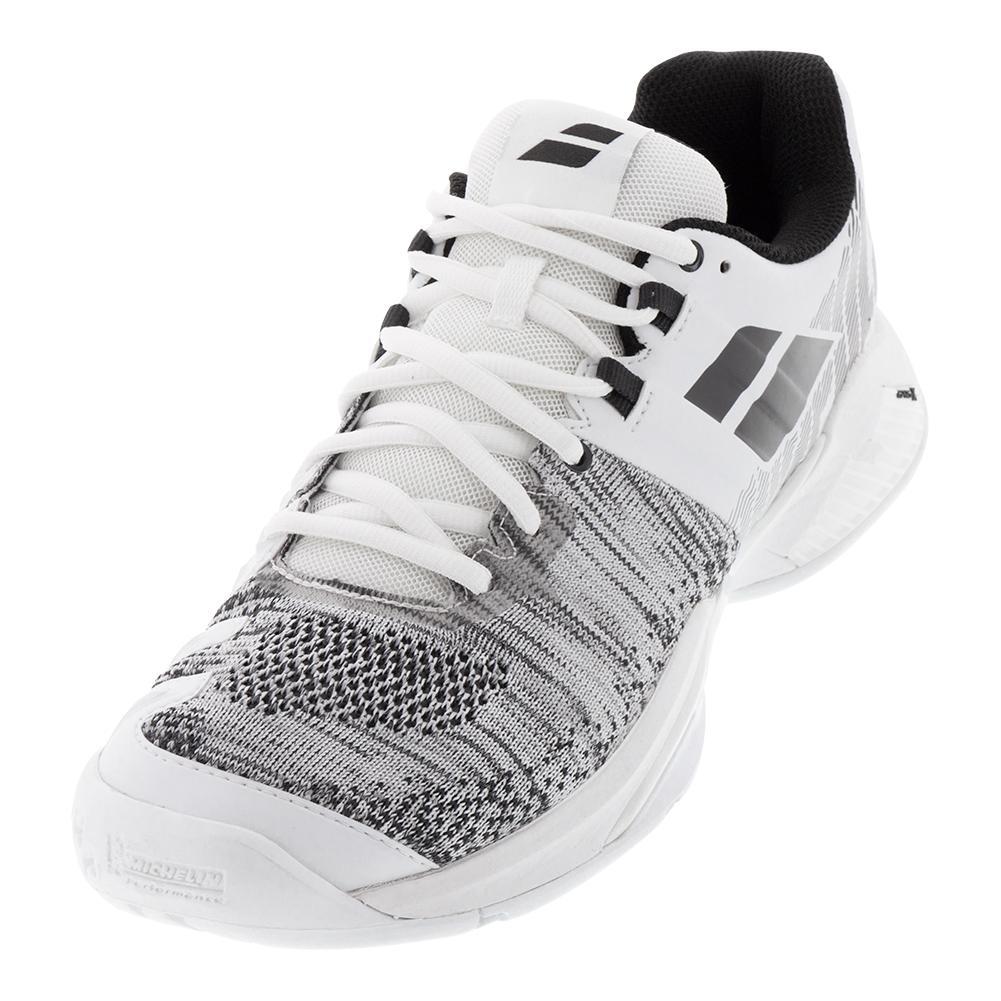 Men's Propulse Blast Tennis Shoes White And Black