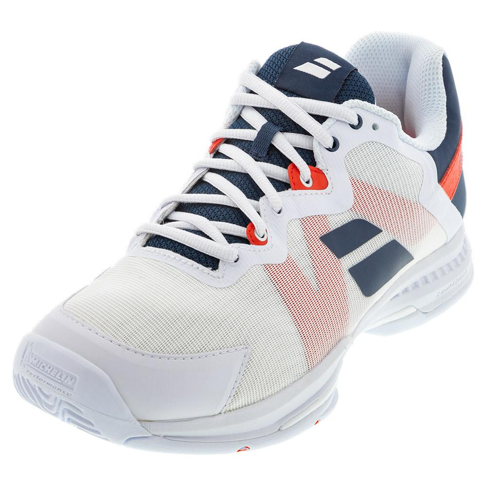 Men's Sfx 3 All Court Tennis Shoes White And Estate Blue