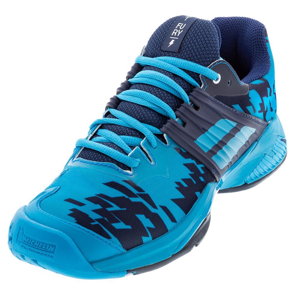 Men's Propulse Fury All Court Tennis Shoes Drive Blue