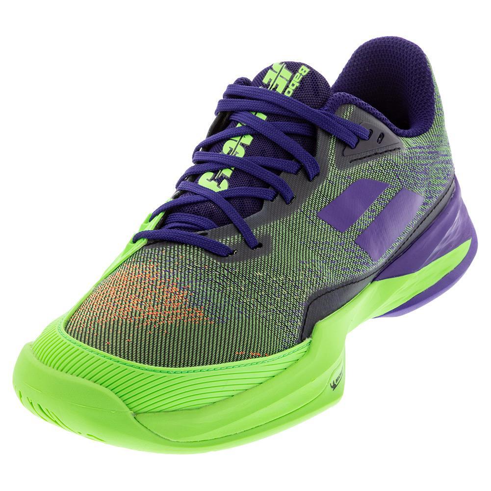 Men's Jet Mach 3 All Court Tennis Shoes Jade Lime