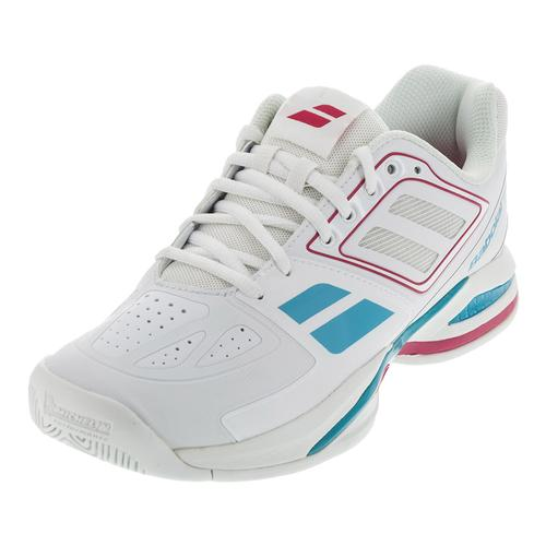 Women's Propulse Team Bpm All Court Tennis Shoes White And Pink
