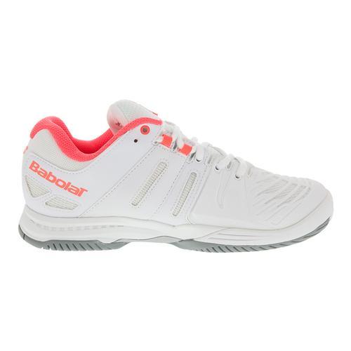 babolat s sfx tennis shoes white pink