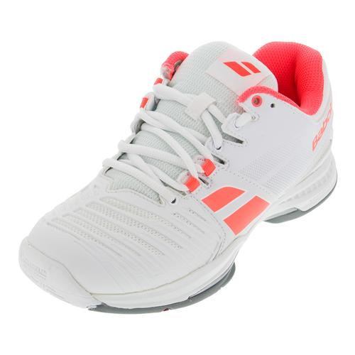 Women's Sfx All Court Tennis Shoes White And Pink