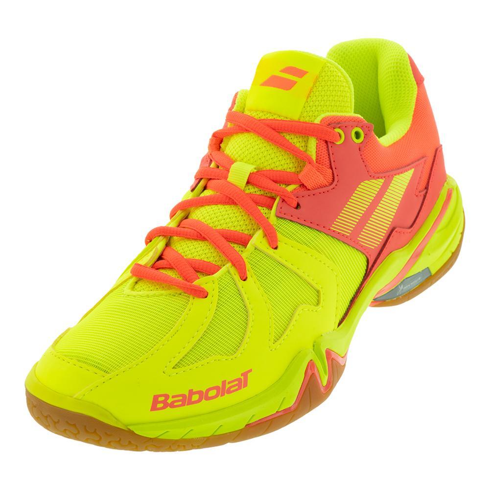 Women's Shadow Spirit Indoor Tennis Shoes Yellow