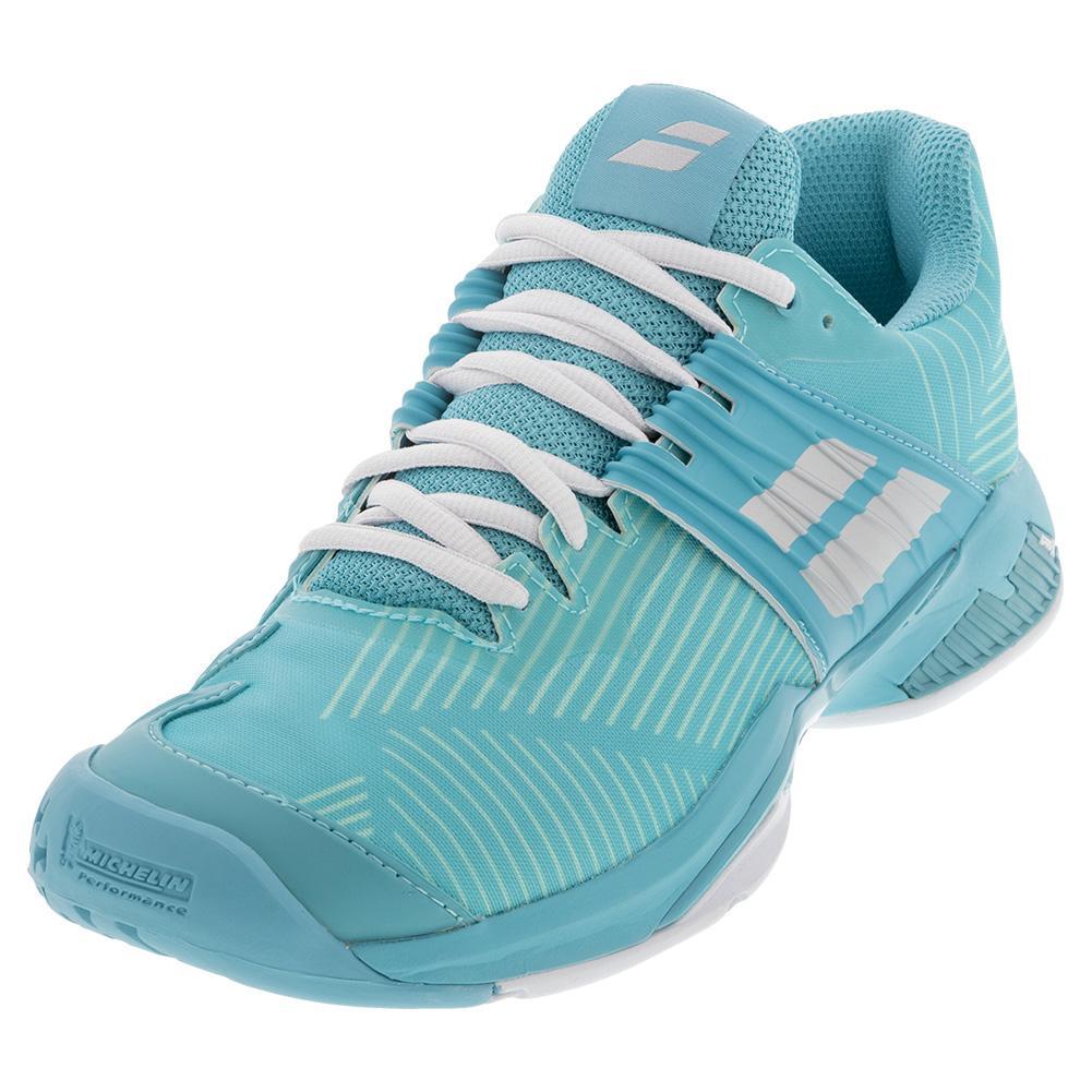 Women's Propulse Fury All Court Tennis Shoes Porcelain Blue