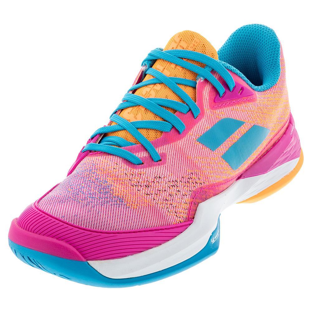 Women's Jet Mach 3 All Court Tennis Shoes Hot Pink