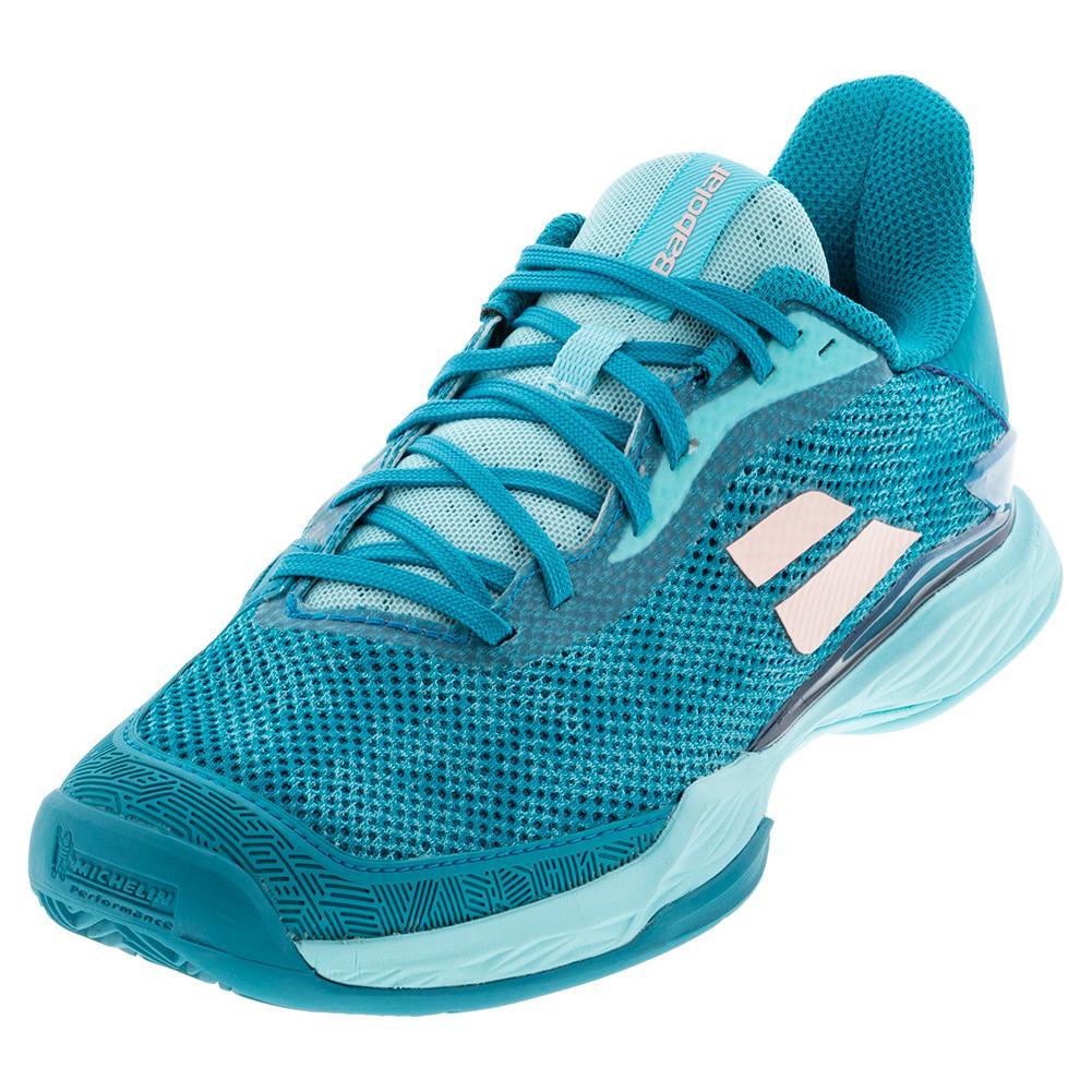 Women's Jet Tere Clay Tennis Shoes Harbor Blue