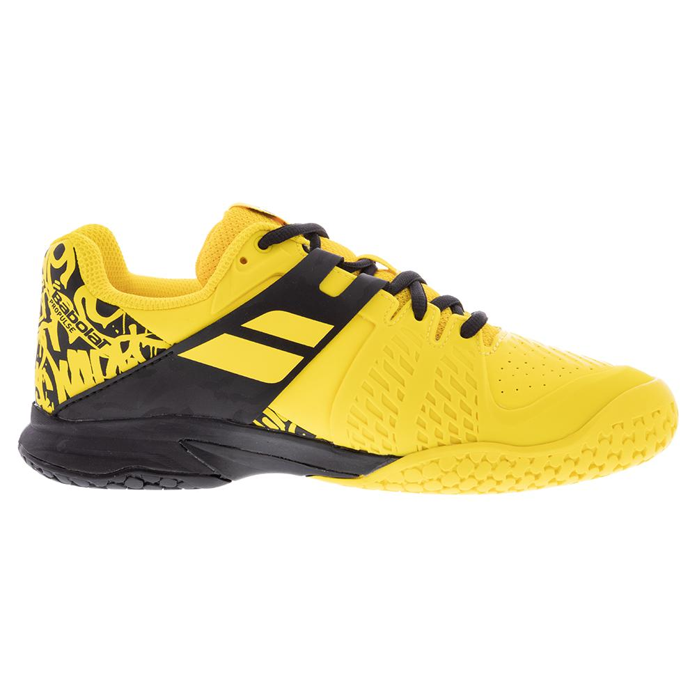Propulse All Court Tennis Shoes Lemon