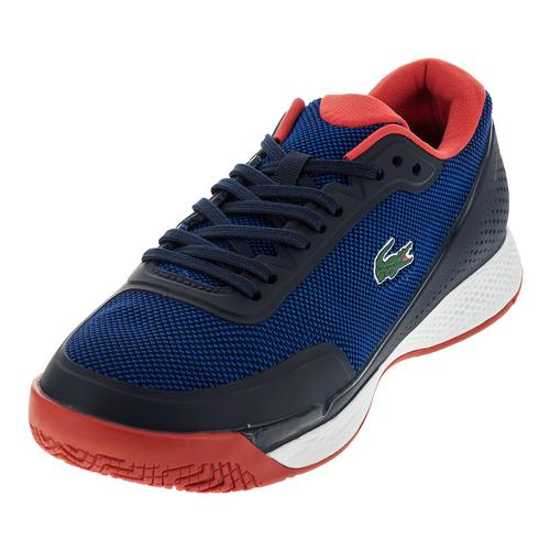 Men's Lt Pro 117 Tennis Shoes Blue And Red
