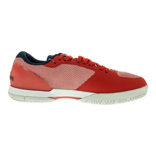 204b9e83631f Lacoste Women s LT Pro 117 Tennis Shoes Red and Navy