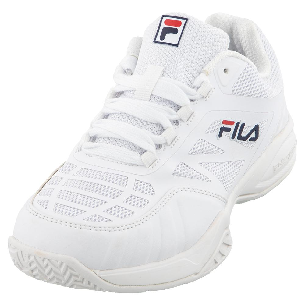 Juniors ` Axilus 2 Energized Tennis Shoes White