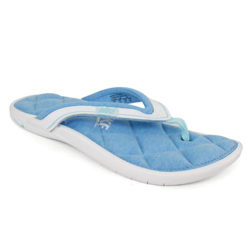 Women's Comfort Thong 2 White/Blue