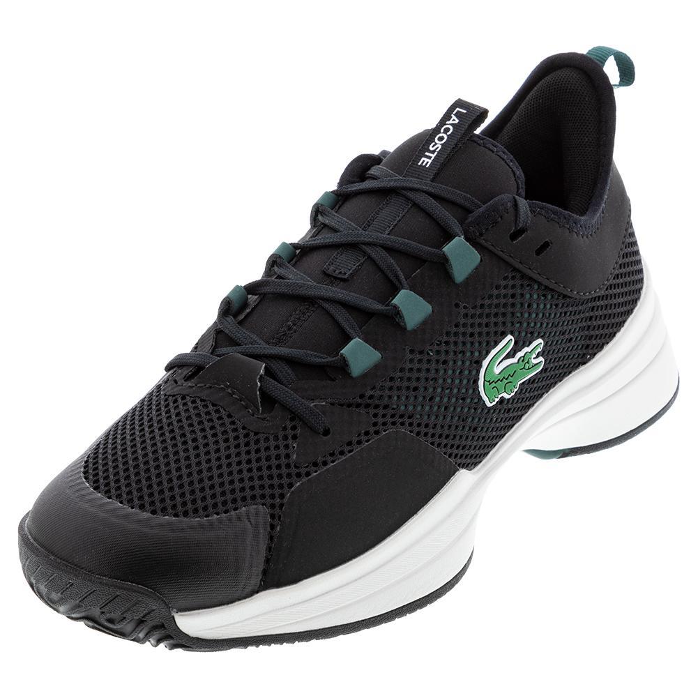 Men's Ag- Lt 21 Tennis Shoes Black And Dark Green