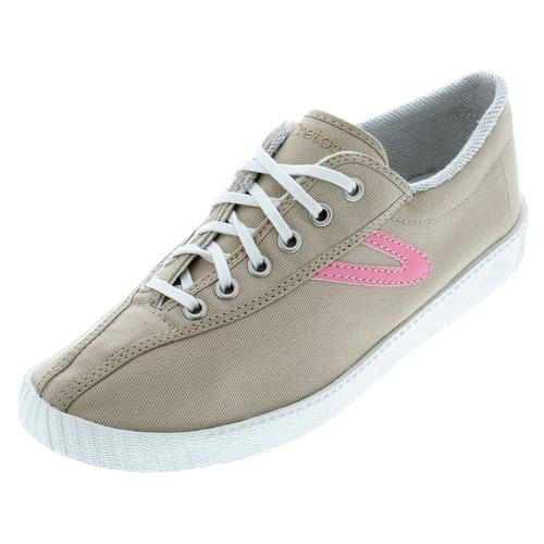 Men's Nylite Canvas Khaki/Pink Shoes