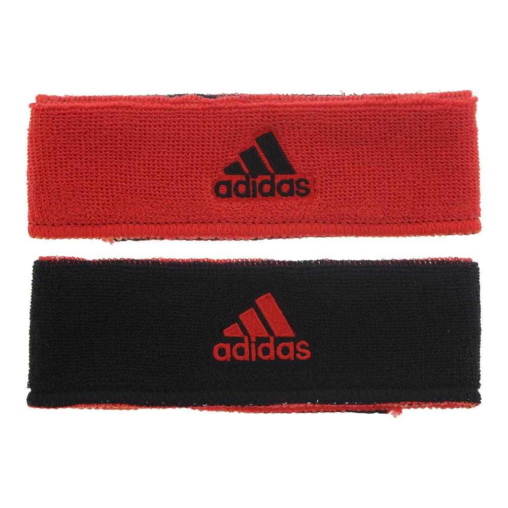 Interval Reversible Headband Hi- Res Red And Black
