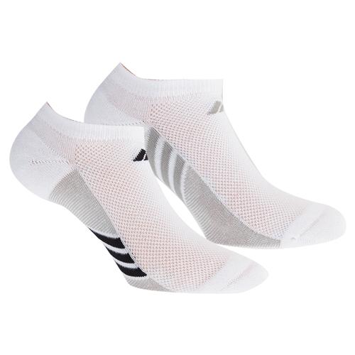 Women's Superlite No Show Socks 3 Pack White And Gray Size 5- 10