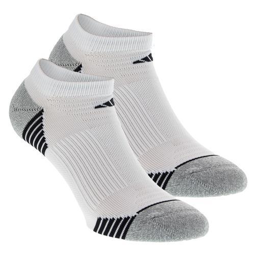 Women's Superlite Speed Mesh No Show Socks 2 Pack White And Aluminum Size 5- 10