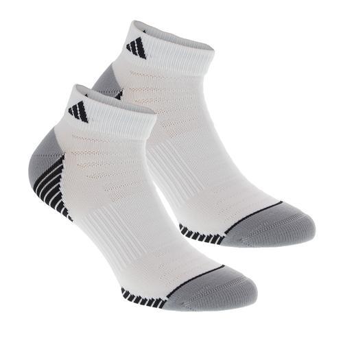 Men's Superlite Speed Mesh Low Cut Tennis Socks Pack White And Black Size 6- 12