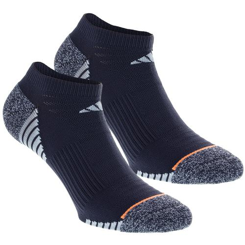 Women's Superlite Speed Mesh No Show Socks 2 Pack Mid Gray And Easy Bl Size 5- 10