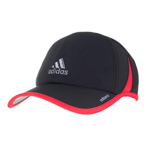 Men's Adizero Ii Tennis Cap Black And Scarlet