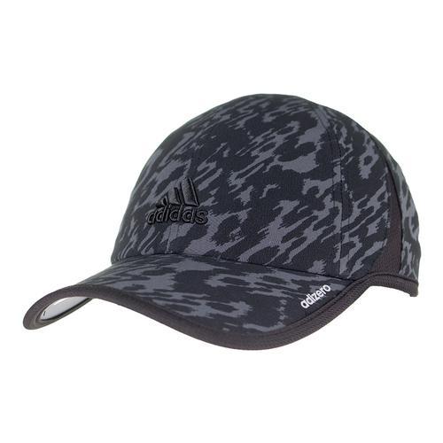 Women's Adizero Extra Tennis Cap Black Ikat Zebra Print