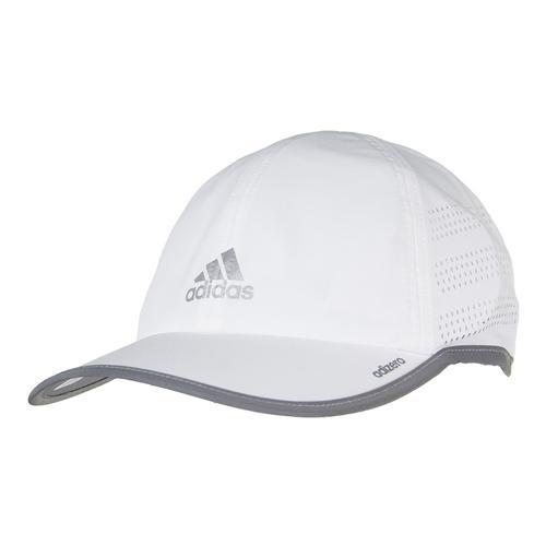 Men's Adizero Extra Tennis Cap White And Reflective Silver
