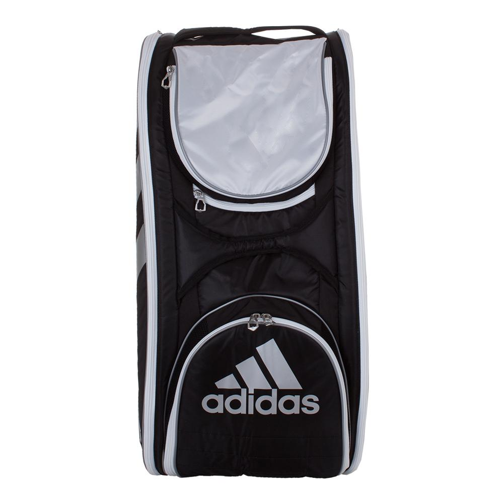 Tour Tennis 12 Racquet Bag Black And White