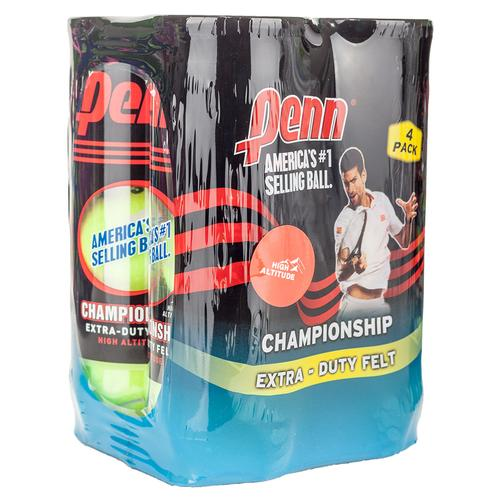 Champ Extra- Duty High- Altitude 4 Pack Tennis Balls