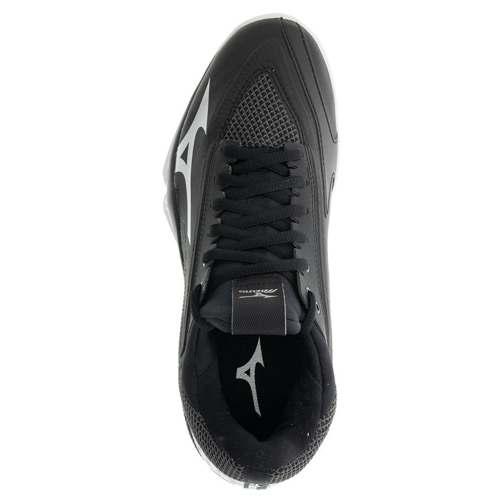 Mizuno Wave Impulse Black Mens Tennis Shoes