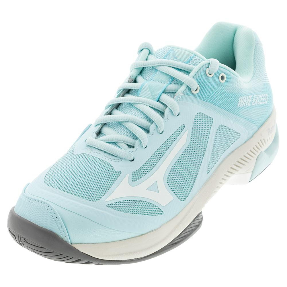 Women's Wave Exceed Sl Ac Tennis Shoes Blue And White