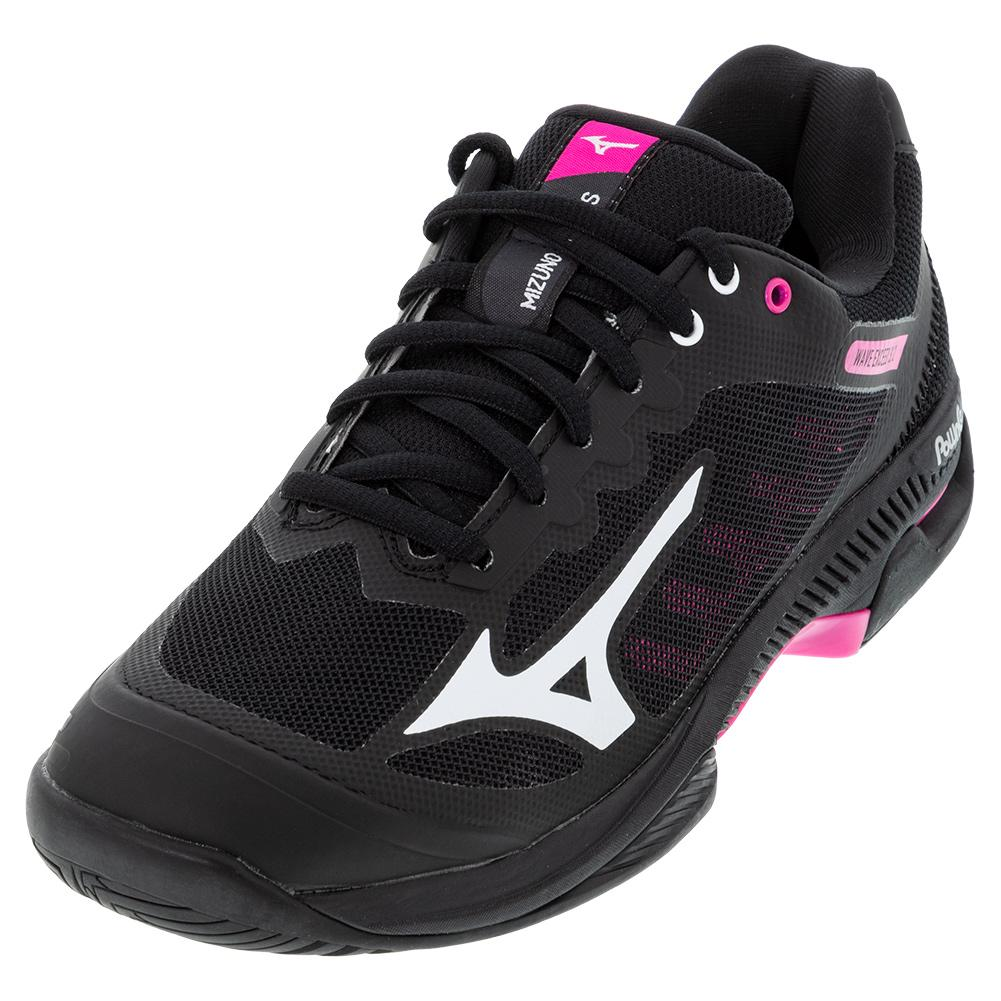 Women's Wave Exceed Sl 2 Ac Tennis Shoes Black And White