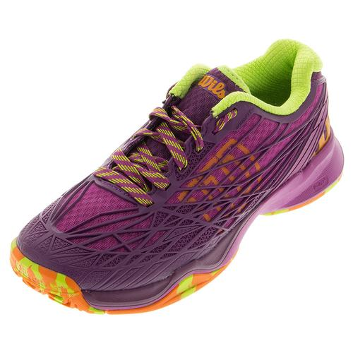 Women's Kaos Tennis Shoes Azalee Pink And Dark Plumberry