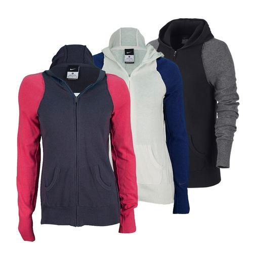 Women's Knit Tennis Sweater Jacket