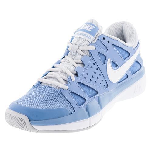nike tennis shoes light blue