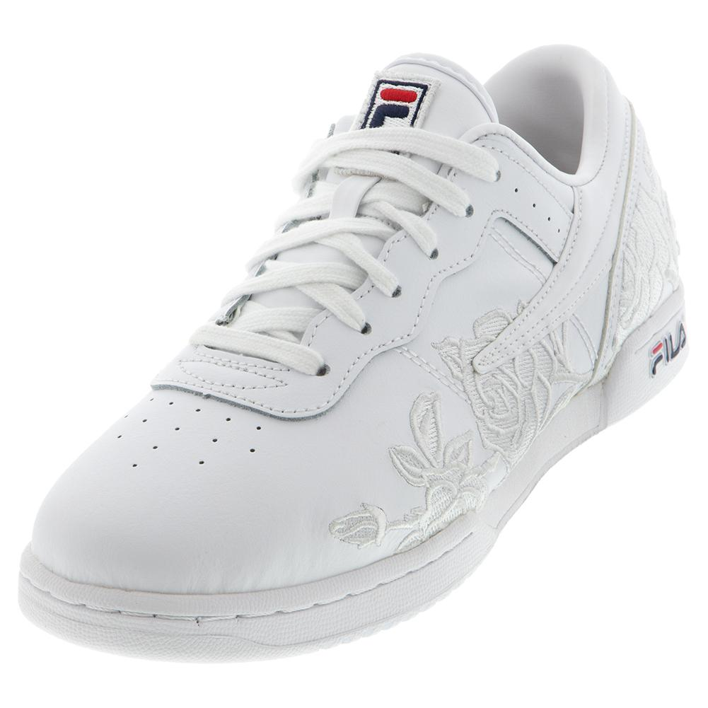 Women's Original Fitness Embroidery Shoes White