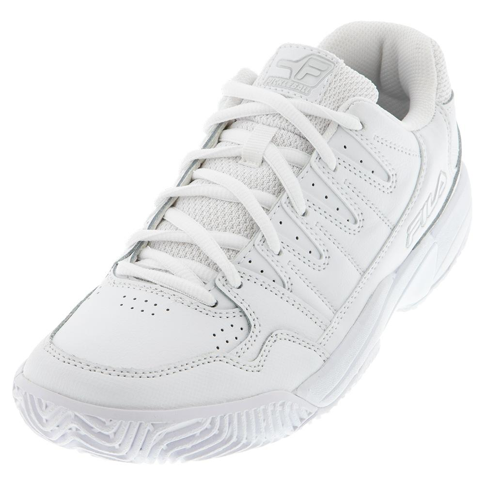 Women's Double Bounce Pickleball Shoes White And Highrise
