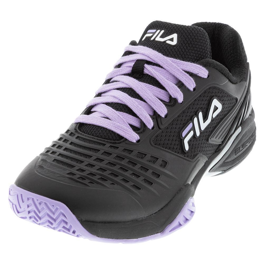 Men's Axilus 2 Energized Tennis Shoes Black And Purple