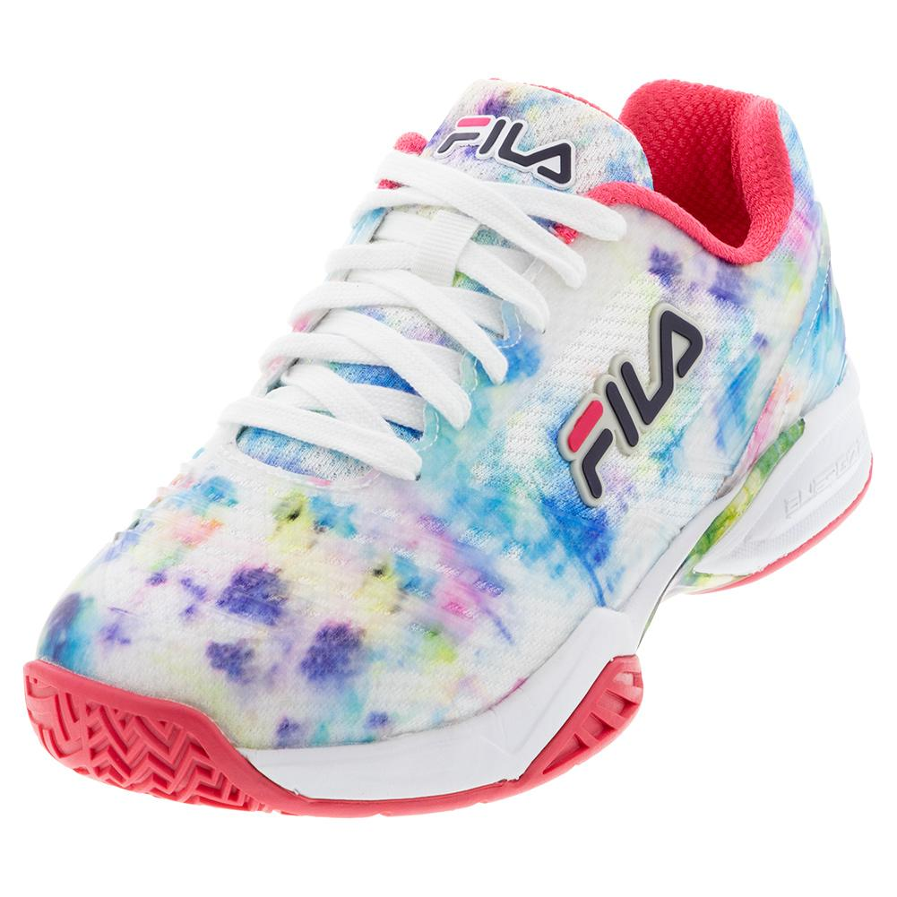 Women's Axilus 2 Energized Tennis Shoes Multicolor And White