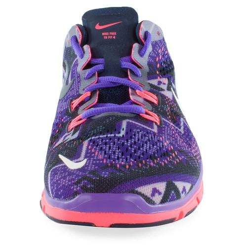 b7058a826d92 Women s Free 5.0 Training Fit 4 Print Shoes Obsidian And Hyper Grape. Zoom.  Hover to zoom click to enlarge. 360 View