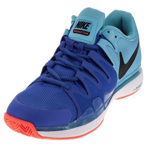 Men's Zoom Vapor 9.5 Tour Tennis Shoes Polarized Blue And Medium Blue